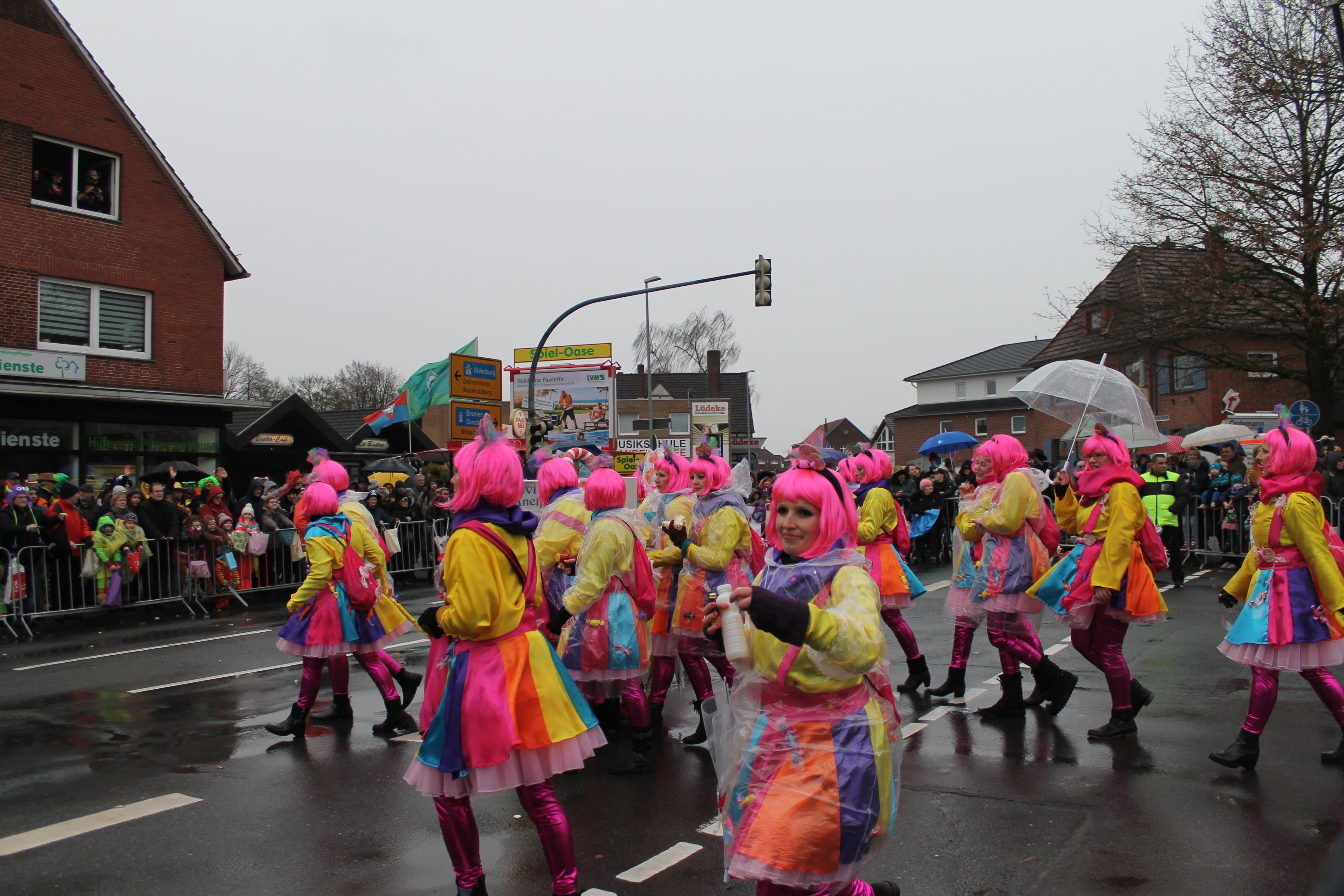 Faschingsumzug In Ganderkesee Trotzt Dem Regen Galerie Und Video
